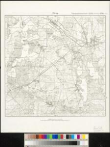 Meßtischblatt 2742 : Mirow, 1932