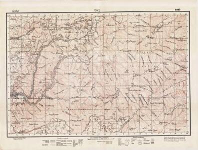 Lambert-Cholesky sheet 2352 (Feneş)