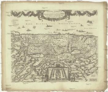 Terra Sancta, sive promissionis, olim Palestina