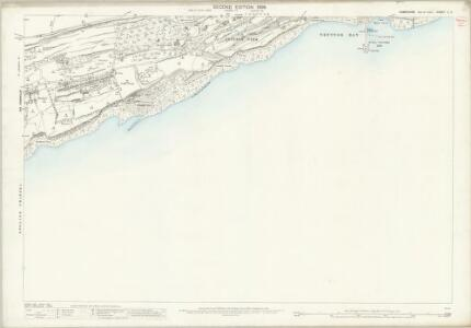 Hampshire and Isle of Wight C.4 (includes: Ventnor) - 25 Inch Map