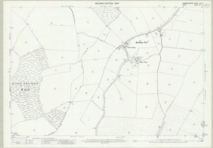 Cambridgeshire LXIIB.5 (includes: Chrishall; Great Chishill; Little Chishill) - 25 Inch Map
