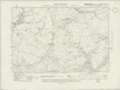 Carmarthenshire XXI.SE - OS Six-Inch Map