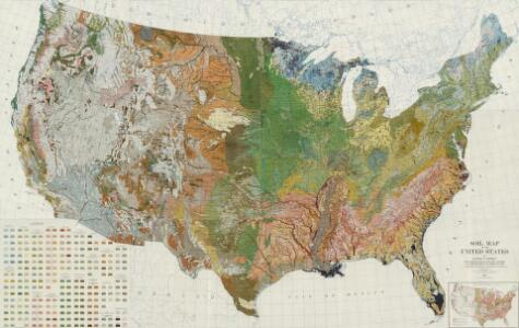 Composite:  Soil Map of the United States.  Atlas of American Agriculture.