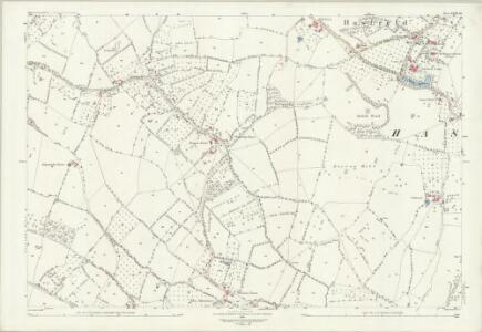 Gloucestershire XVIII.10 (includes: Ashleworth; Corse; Hasfield) - 25 Inch Map