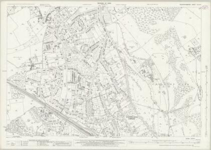 Buckinghamshire XLVIII.11 (includes: Chalfont St Peter; Gerrards Cross) - 25 Inch Map