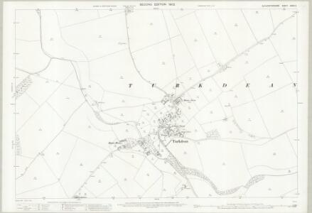 Gloucestershire XXXVI.2 (includes: Haselton; Turkdean) - 25 Inch Map