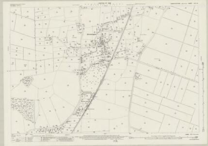 Cambridgeshire XVI.13 (includes: Doddington; Wimblington) - 25 Inch Map