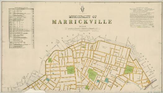 Marrickville, 1st ed. 30.8.40, sheet 1(2) (col)