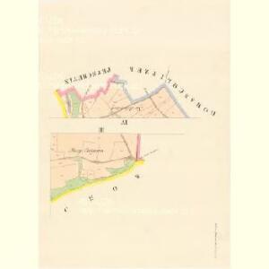 Klein Petrowitzel (Maly Petrowiczky) - c5742-1-003 - Kaiserpflichtexemplar der Landkarten des stabilen Katasters