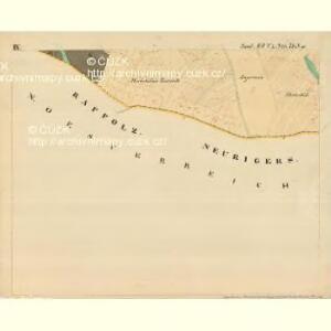 Piesling - m2287-1-010 - Kaiserpflichtexemplar der Landkarten des stabilen Katasters