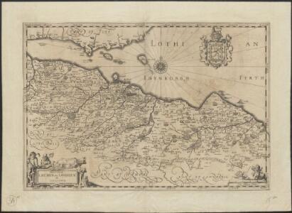Provincae Lauden seu Lothien et Linlitouo