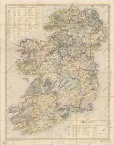 Stanford ́s map of Irland