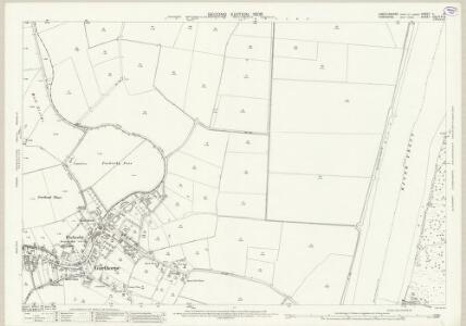 Lincolnshire V.14 (includes: Adlingfleet; Alkborough; Burton upon Stather; Fockerby; Garthorpe) - 25 Inch Map