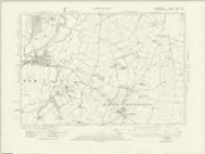 Derbyshire XLVII.NE - OS Six-Inch Map