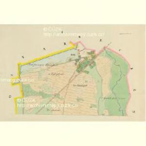 Dworetz (Dworec) - c1622-2-001 - Kaiserpflichtexemplar der Landkarten des stabilen Katasters