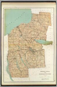 Oswego, Cayuga, Onondaga counties.