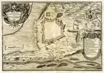 Plan de la ville et des attaques de Püycerda en 1678