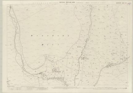 Devon CVII.1 (includes: Lydford) - 25 Inch Map