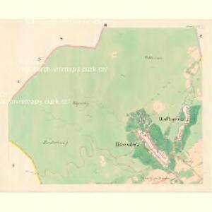 Břesowa - m0264-1-002 - Kaiserpflichtexemplar der Landkarten des stabilen Katasters