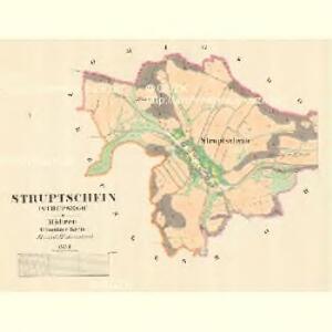 Struptschein (Strupsego) - m2906-1-001 - Kaiserpflichtexemplar der Landkarten des stabilen Katasters