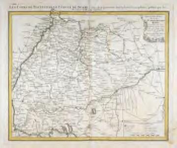 Special Post Karte durch den schwaebischen Kreis