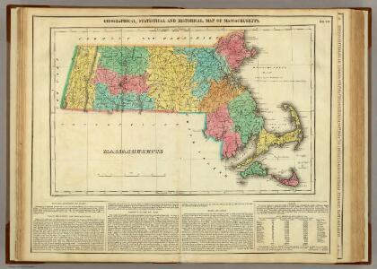 Map Of Massachusetts.