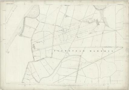 London (First Editions c1850s) L (includes: Borough Of Woolwich) - 25 Inch Map