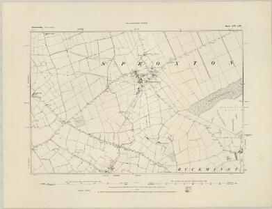 Leicestershire XIII.NE - OS Six-Inch Map
