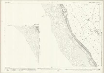 Cumberland LXXII.10 (inset LXXII.14) (includes: Lowside Quarter) - 25 Inch Map