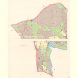 Mähring - c8200-1-001 - Kaiserpflichtexemplar der Landkarten des stabilen Katasters