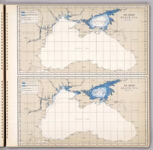 Ice Chart Black Sea, January, February.