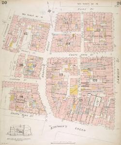 Insurance Plan of the City of Dublin Vol. 1: sheet 20