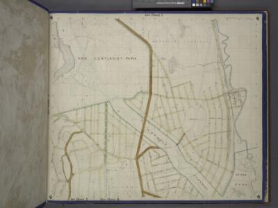 Bronx, Topographical Map Sheet 4; [Map bounded by Mosholu Ave., Jerome Ave., Bronx River, Richard St., Lorillard Terrace, Tillotson Ave., Railroad Ave., Hull Ave., Perry Ave., Bainbridge Ave., Briggs Ave., Carlin PL.; Including Marion Ave., Antony Ave...