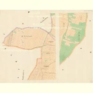 Plastowitz - c5816-1-002 - Kaiserpflichtexemplar der Landkarten des stabilen Katasters