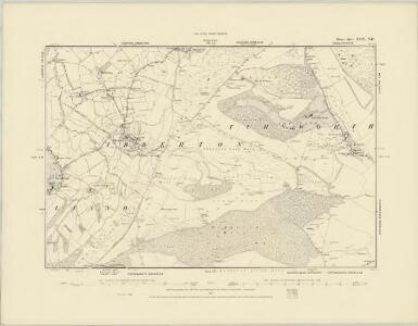 Dorset XXIII.NW - OS Six-Inch Map