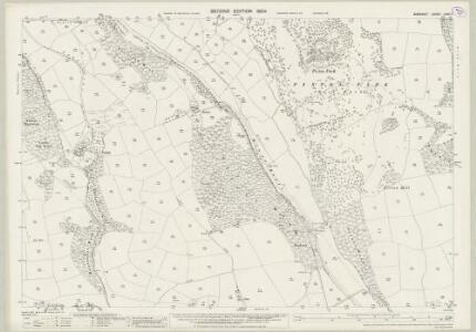 Somerset LXVII.7 (includes: Brushford; Dulverton) - 25 Inch Map