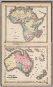 Africa.  Australia and New Zealand.