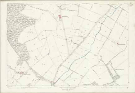 Bedfordshire IV.12 (includes: Bolnhurst and Keysoe; Melchbourne and Yelden; Riseley; Swineshead) - 25 Inch Map
