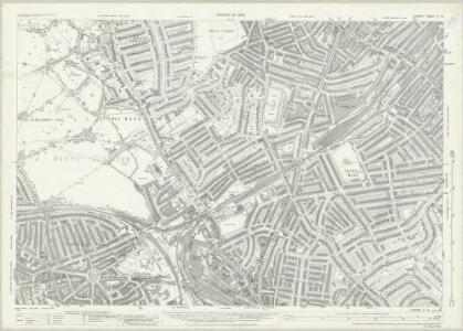 London (1915- Numbered sheets) II.13 (includes: Islington; St Pancras) - 25 Inch Map