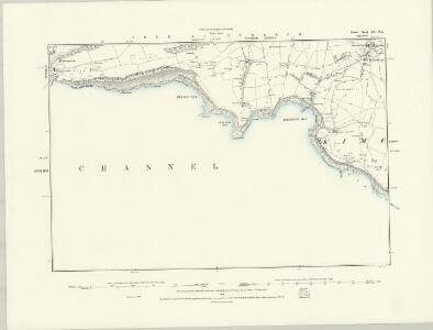 Dorset LV.SW - OS Six-Inch Map