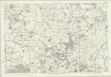 Sussex XXXVII - OS Six-Inch Map