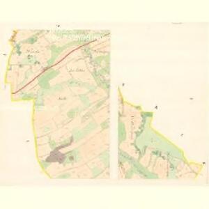 Kozlowitz - m1320-1-001 - Kaiserpflichtexemplar der Landkarten des stabilen Katasters