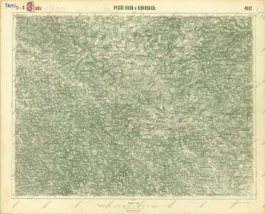 III. vojenské mapování 4552