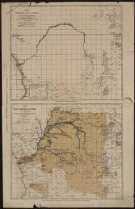 Carte de l'Etat indépendant du Congo [et] Carte du Bassin du Congo