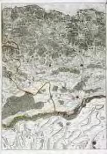 Le cours du Rhin de Bâle à Hert près Philisbourg contenant l'Alsace et partie du Brisgau, 2
