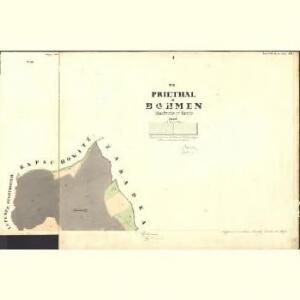 Priedhal - c6236-1-001 - Kaiserpflichtexemplar der Landkarten des stabilen Katasters