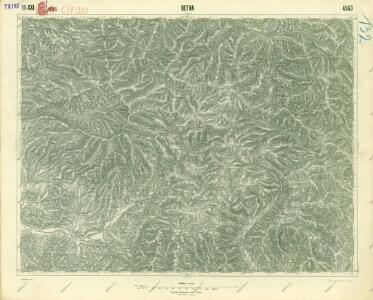 III. vojenské mapování 4563