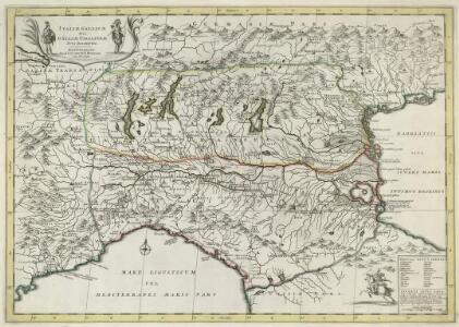Italiae Galicae Sive Galliae Cisalpinae