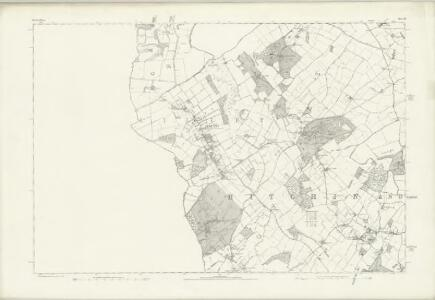 Hertfordshire VII - OS Six-Inch Map