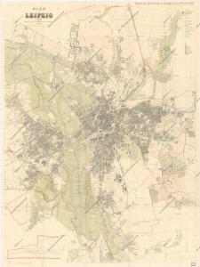 Plan von Leipzig